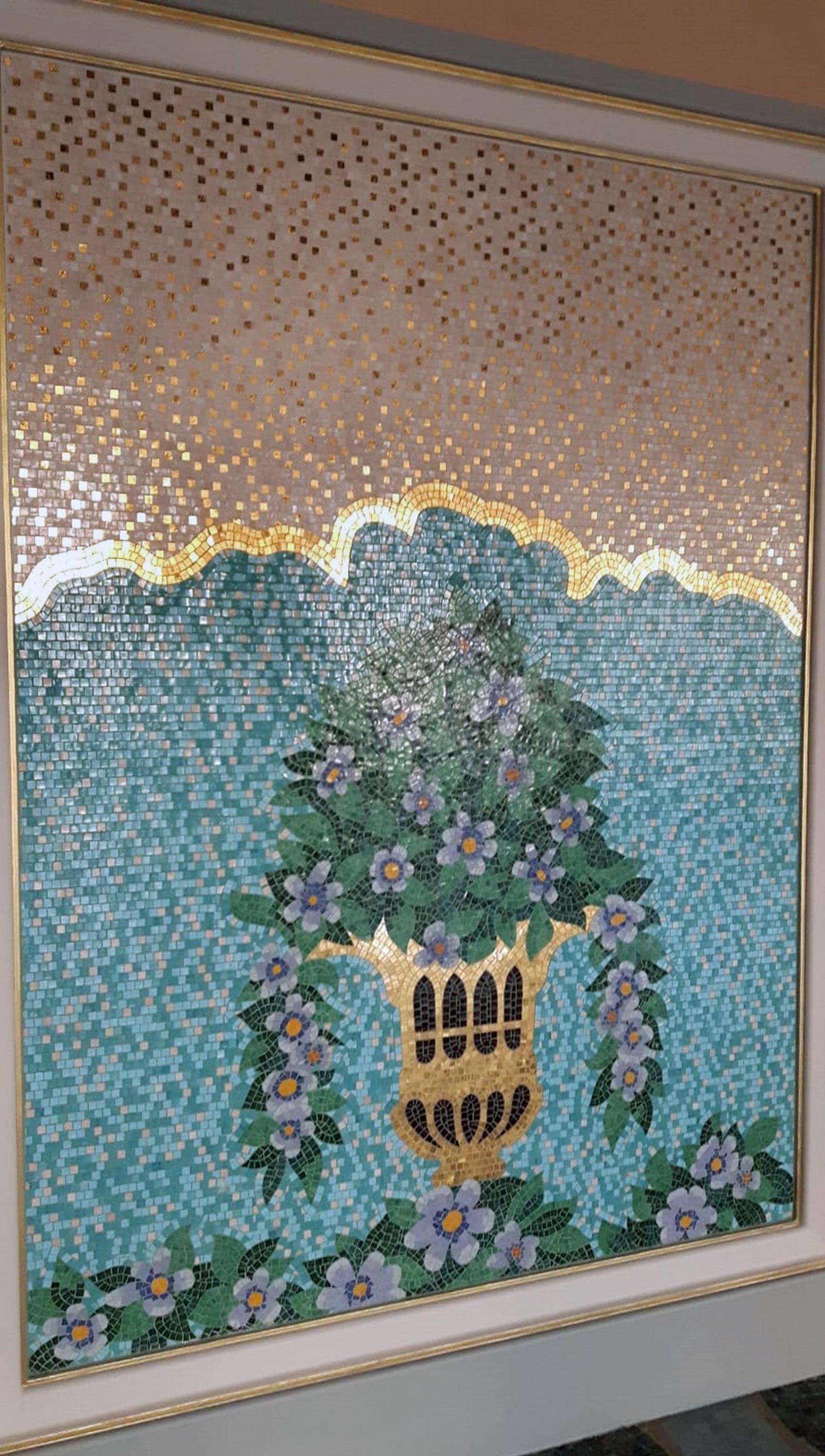 Dammam - Arabia Saudita - Mosaico in Marmo