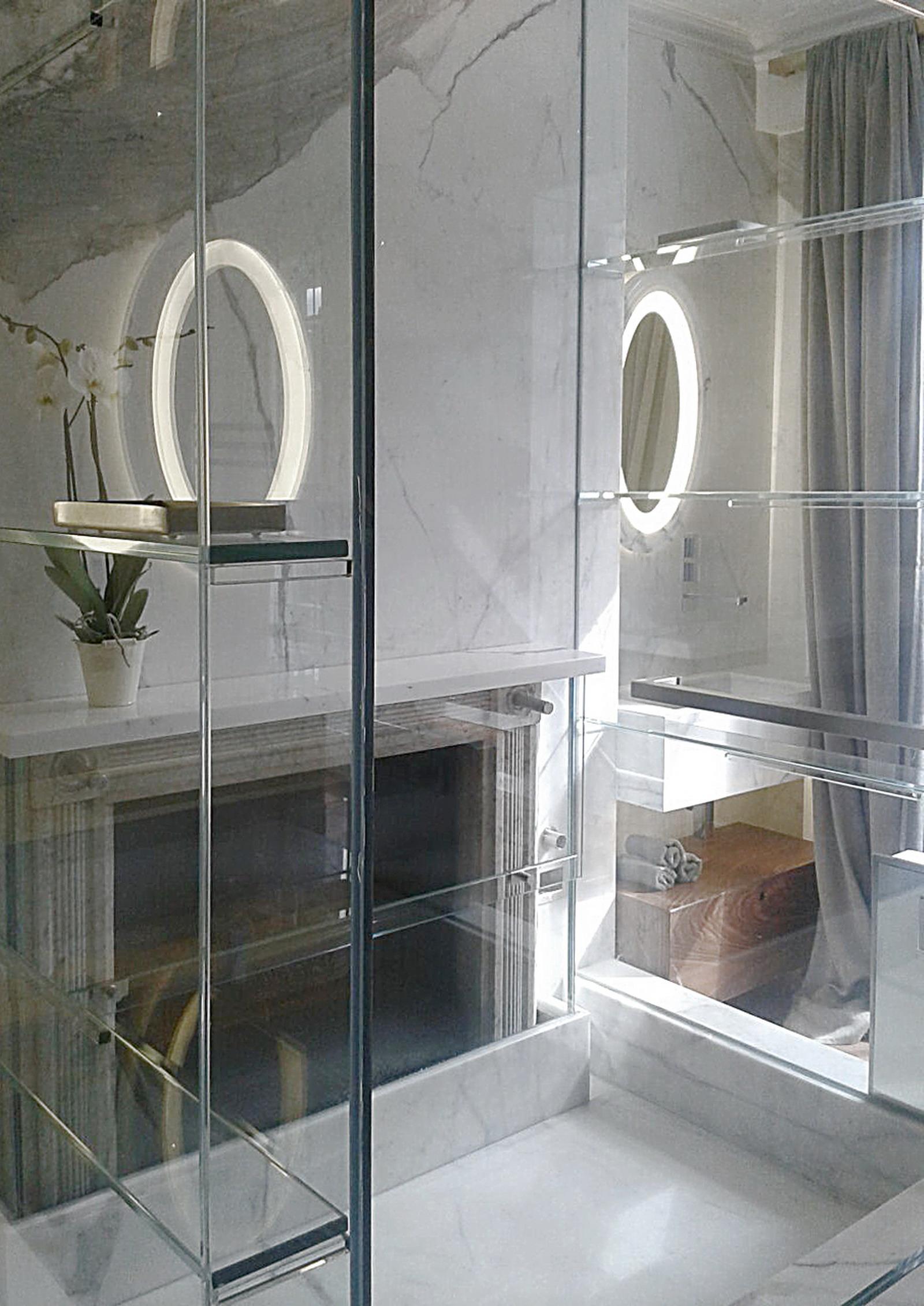 Appartamento Londra UK - Camino in Marmo