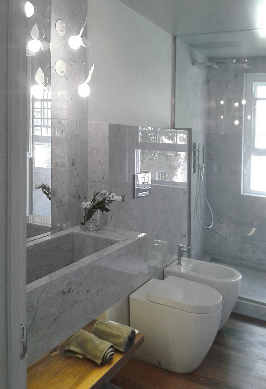 Appartamento Londra UK - Bagno in Marmo