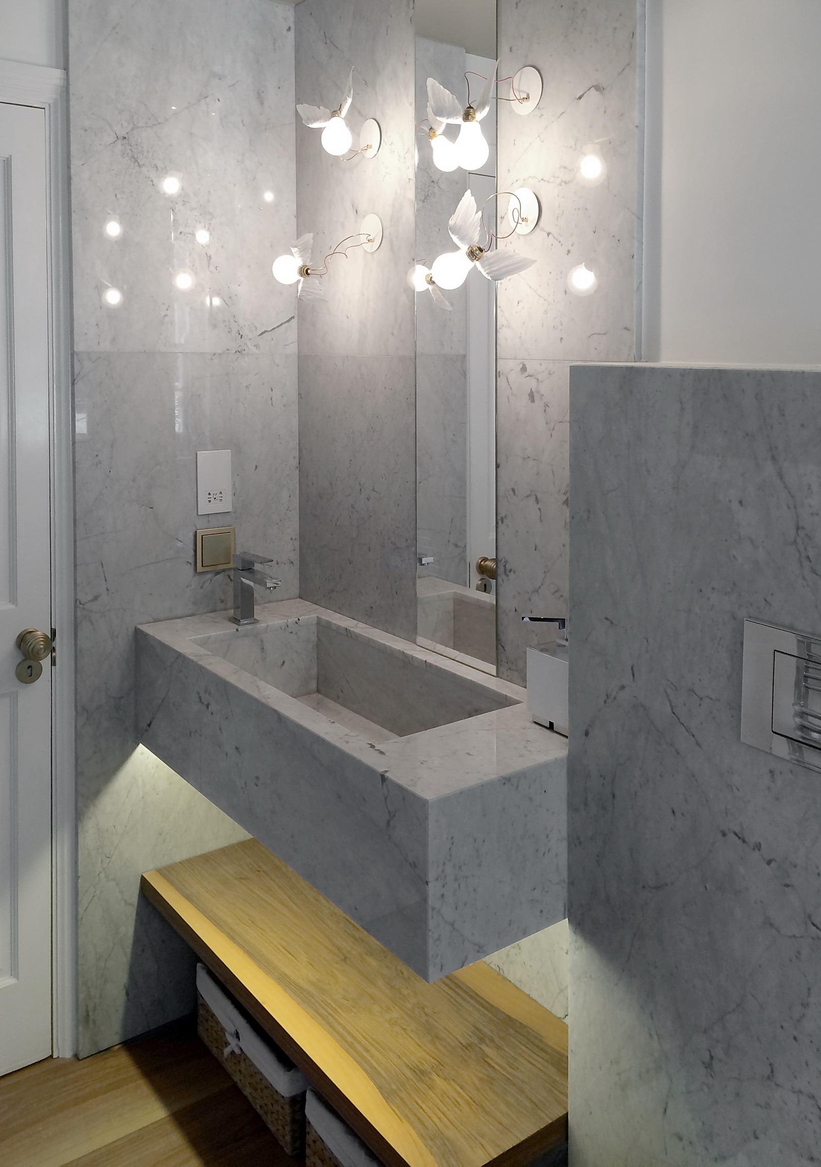 Appartamento Londra UK - Bagno - Lavandino in Marmo