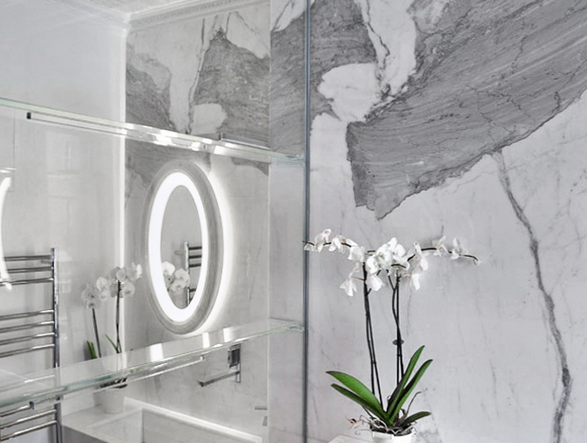 Appartamento Londra UK - Rivestimenti in marmo
