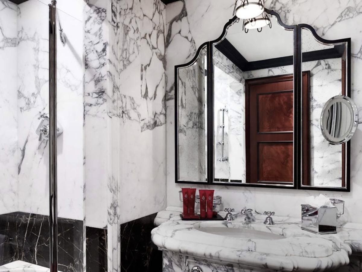 Hotel Danieli, Venice - Marble Bathrooms, Marble Sink