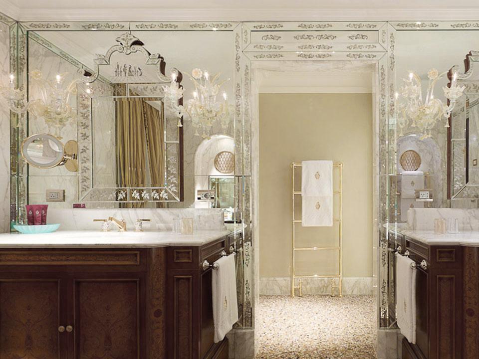 Hotel Danieli, Venice - Marble Bathrooms