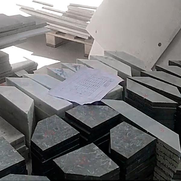 Marble Project - Lavorazione Mattonelle in Marmo